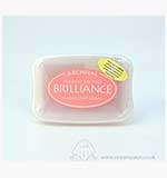 Brilliance Pigment Inkpad - Pearlescent Coral