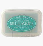 SO: Brilliance Pigment Inkpad - Pearlescent Jade