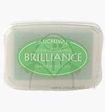 SO: Brilliance Pigment Inkpad - Pearlescent Lime