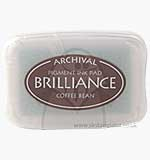 Brilliance Pigment Inkpad - Coffee Bean
