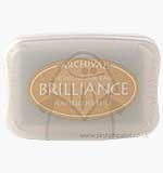 Brilliance Pigment Inkpad - Pearlescent Beige