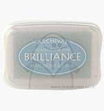 Brilliance Pigment Inkpad - Pearlescent Ice Blue