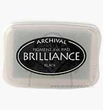 SO: Brilliance Pigment Inkpad - Graphite Black