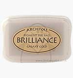 SO: Brilliance Pigment Inkpad - Galaxy Gold