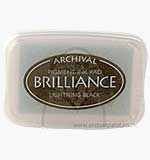 SO: Brilliance Pigment Inkpad - Lightning Black