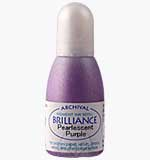 Brilliance Pad Pigment Ink Refill - Pearlescent Purple