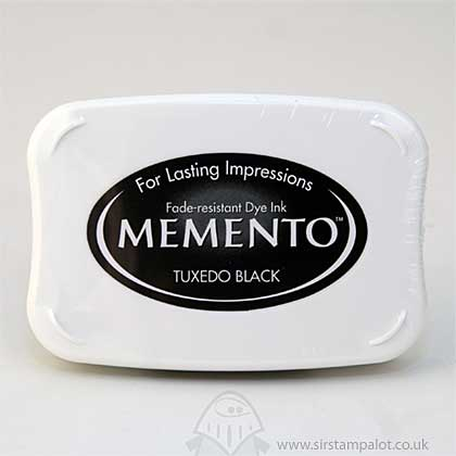 Memento Dye InkPad - Tuxedo Black