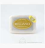 SO: Brilliance Pigment Inkpad - Pearlescent Olive