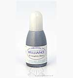 Brilliance Pad Pigment Ink Refill - Graphite Black