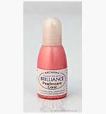 Brilliance Pad Pigment Ink Refill - Pearlescent Coral