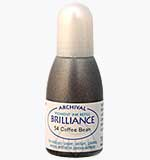 Brilliance Pad Pigment Ink Refill - Coffee Bean