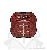 SO: Staz On Midi Solvent Ink Pad - Claret