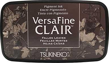 VersaFine Clair Ink Pad - Fallen Leaves