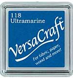 VersaCraft Fabric - Small Ink Pad - Ultramarine
