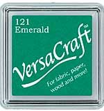VersaCraft Fabric - Small Ink Pad - Emerald