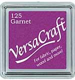 VersaCraft Fabric - Small Ink Pad - Garnet
