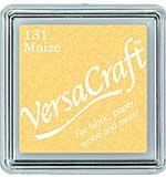 VersaCraft Fabric - Small Ink Pad - Maize