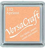 VersaCraft Fabric - Small Ink Pad - Apricot