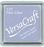 VersaCraft Fabric - Small Ink Pad - Pale Lilac