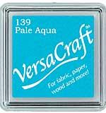 VersaCraft Fabric - Small Ink Pad - Pale Aqua