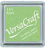 VersaCraft Fabric - Small Ink Pad - Kiwi