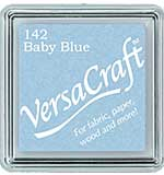 VersaCraft Fabric - Small Ink Pad - Baby BLue