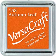 SO: VersaCraft Fabric - Small Ink Pad - Autumn Leaf
