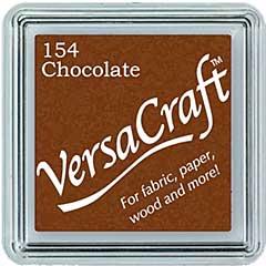 SO: VersaCraft Fabric - Small Ink Pad - Chocolate