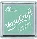 SO: VersaCraft Fabric - Small Ink Pad - Celadon