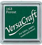SO: VersaCraft Fabric - Small Ink Pad - Forest