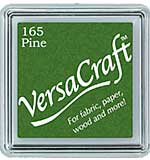 SO: VersaCraft Fabric - Small Ink Pad - Pine