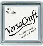 SO: VersaCraft Fabric - Small Ink Pad - White