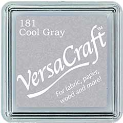 SO: VersaCraft Fabric - Small Ink Pad - Cool Gray