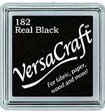SO: VersaCraft Fabric - Small Ink Pad - Real Black