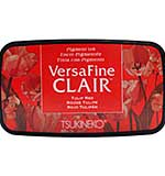 VersaFine Clair Ink Pad - Tulip Red