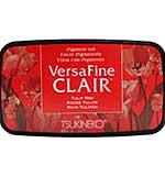 VersaFine Clair Pigment Ink Pad - Tulip Red