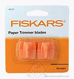 SO: Fiskars Paper Trimmer - Replacement Blades (2pk)