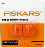 SO: Fiskars - Titanium Paper Trimmer Blades - Straight
