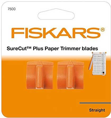 SO: Fiskars SureCut Plus Trimmer Blades x2 (Fits trimer #4560)