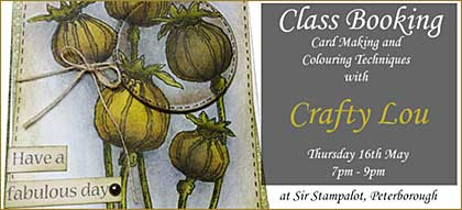 CLASS 1605 - Card Making with Crafty Lou