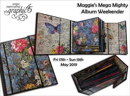 CLASS 1705 - Maggie\'s Mighty Album Weekender