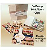CLASS 2908 - Bo Bunny 6x6 Album in an Evening
