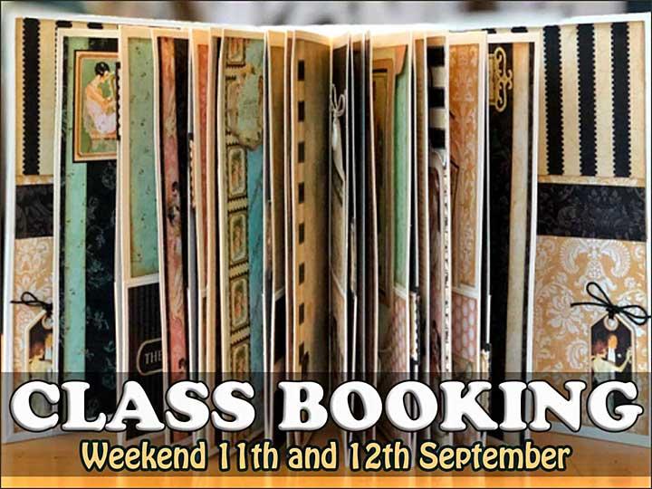 CLASS 1109 - G45 Le Romantique Keepsake Album Weekender (C20200516-10)