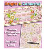 CLASS 2805 - Bright & Colourful Cards