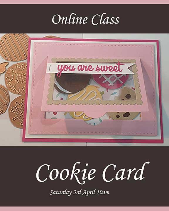 Online Card Class - Cookie Card
