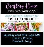 SO: Exclusive Spring Flora Workshop with Susan Tierney-Cockburn featuring Spellbinders