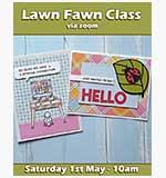 Online Card Class - Lawn Fawn Ladybug