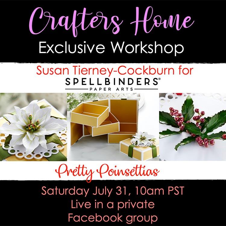 Exclusive Workshop II with Susan Tierney-Cockburn with Spellbinders