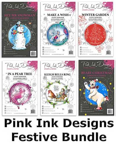 Mystery Monday Bundle 13-09 (Pink Ink)