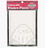 Embossable Window Plastic